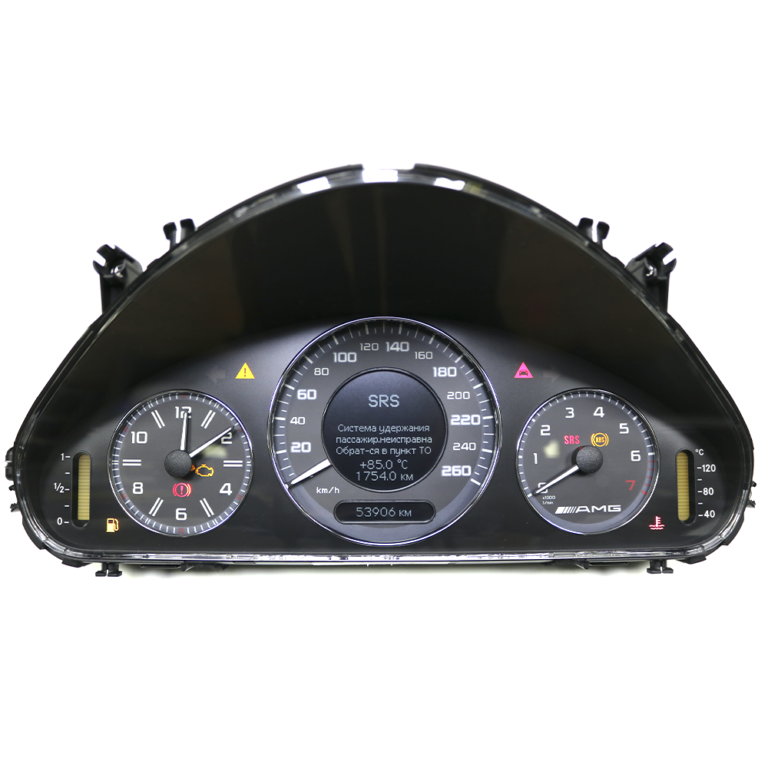 Приборная панель E-Class W211 AMG