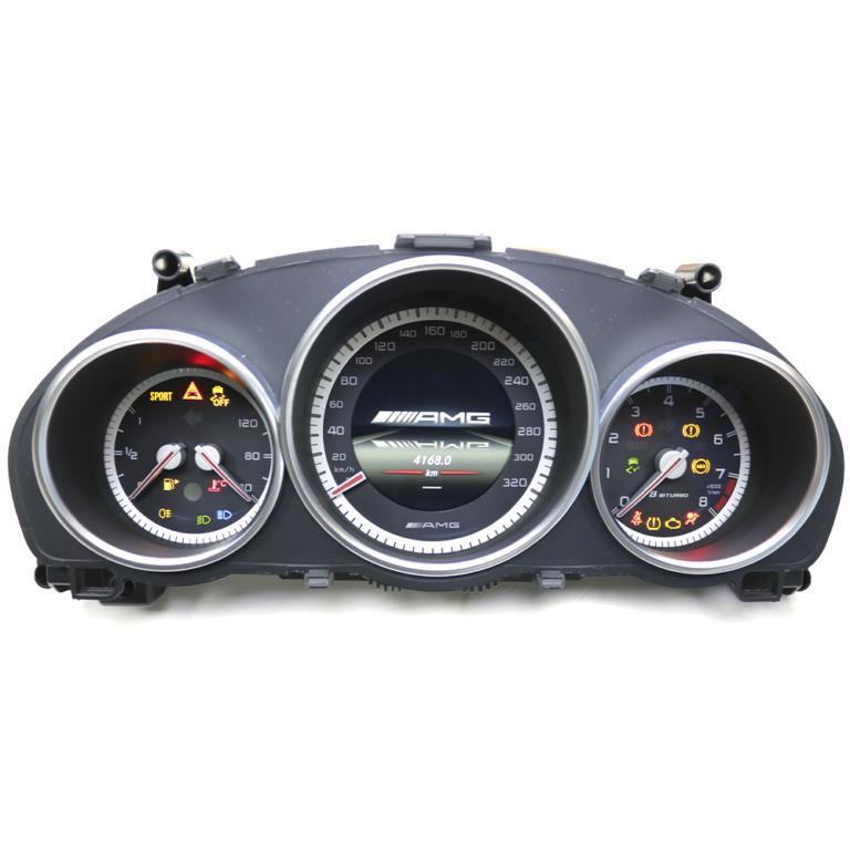 Приборная панель E-Class W212 рест AMG